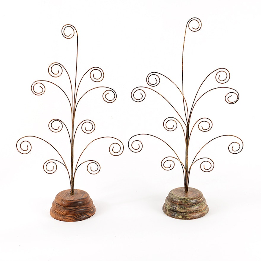 Picture Frames And Curled Wire Picture Holders Ebth