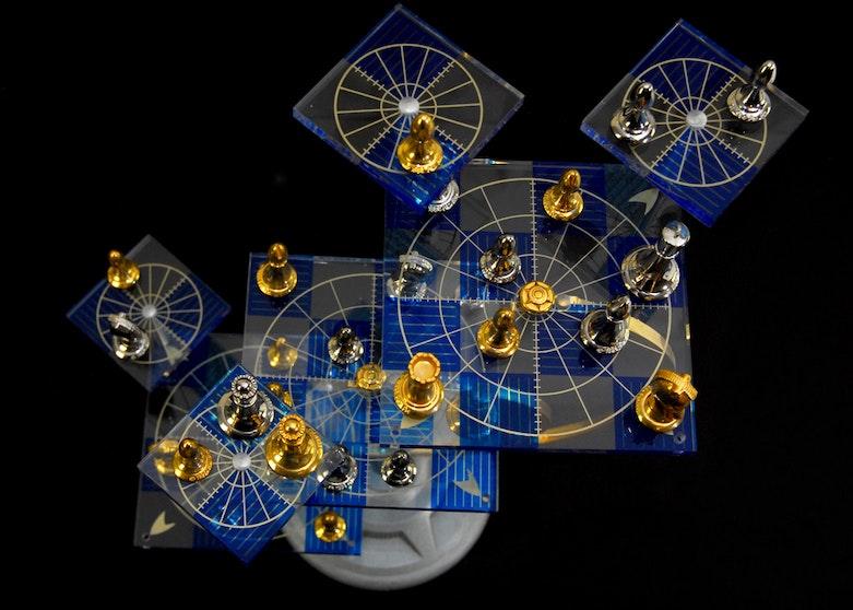 Mystical Creations Castle Chess Set Ebth