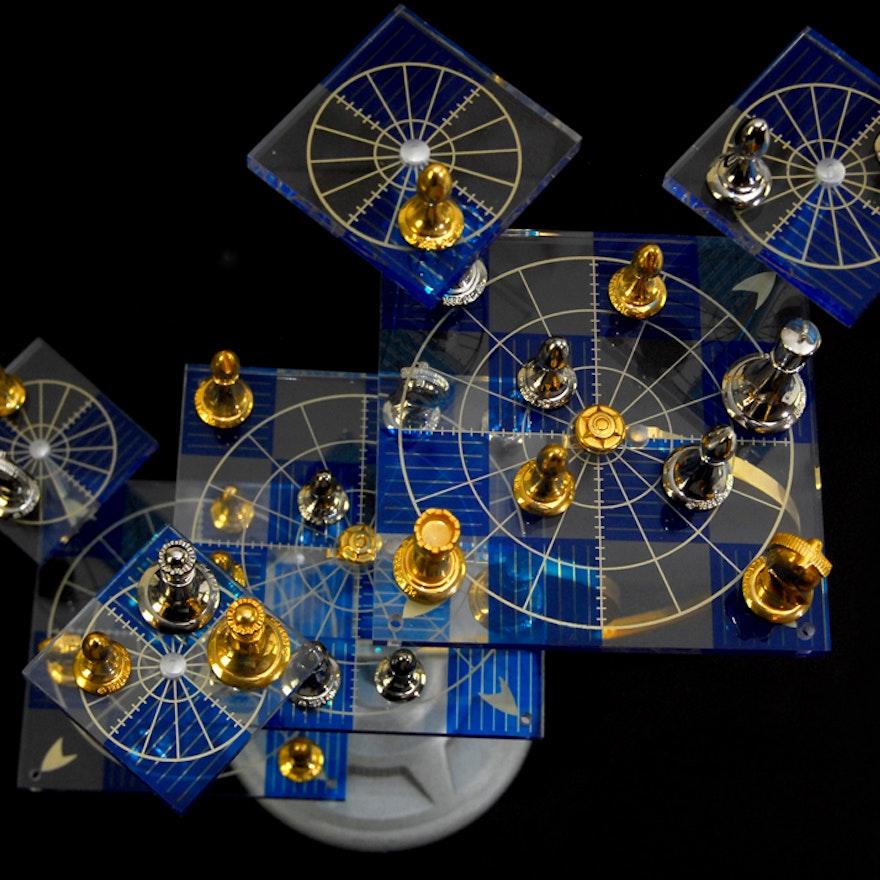 Official Star Trek Tri Dimensional Chess Set Ebth