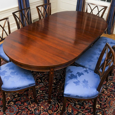 Mahogany Dining Table And Chairs