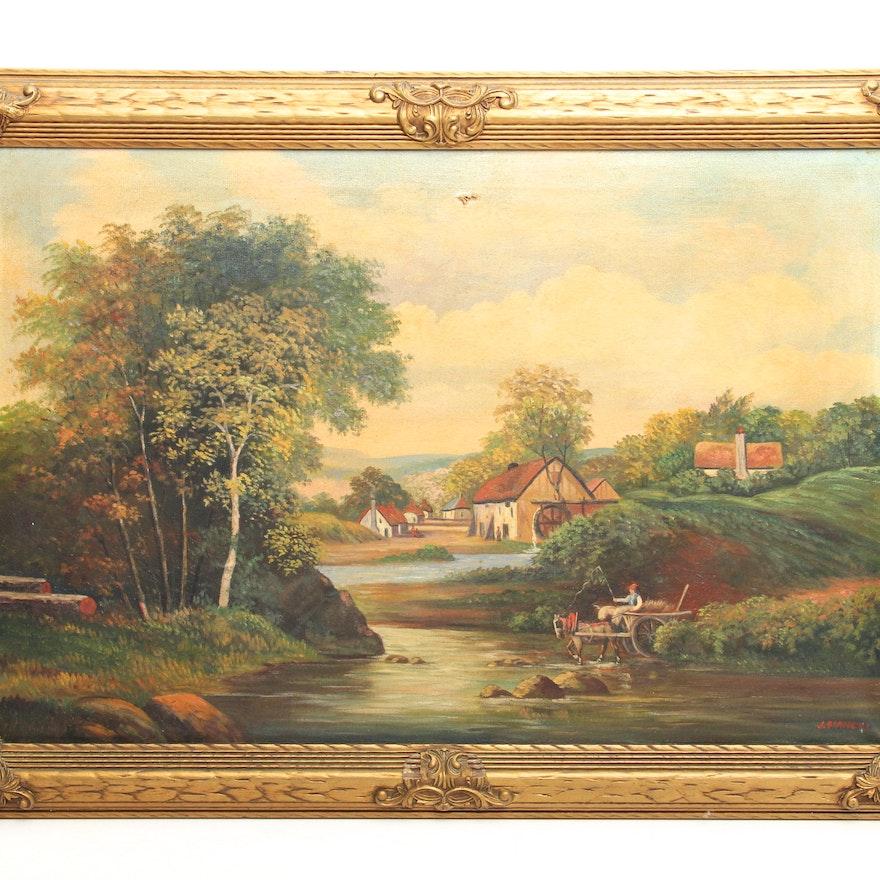Canvas Painting Columbus Ohio