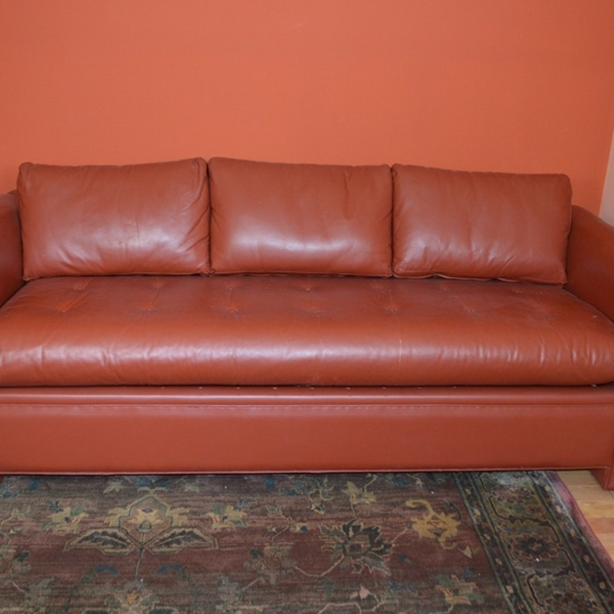 Marvelous Avery Boardman Ltd Red Leather Sofa Bed Ocoug Best Dining Table And Chair Ideas Images Ocougorg