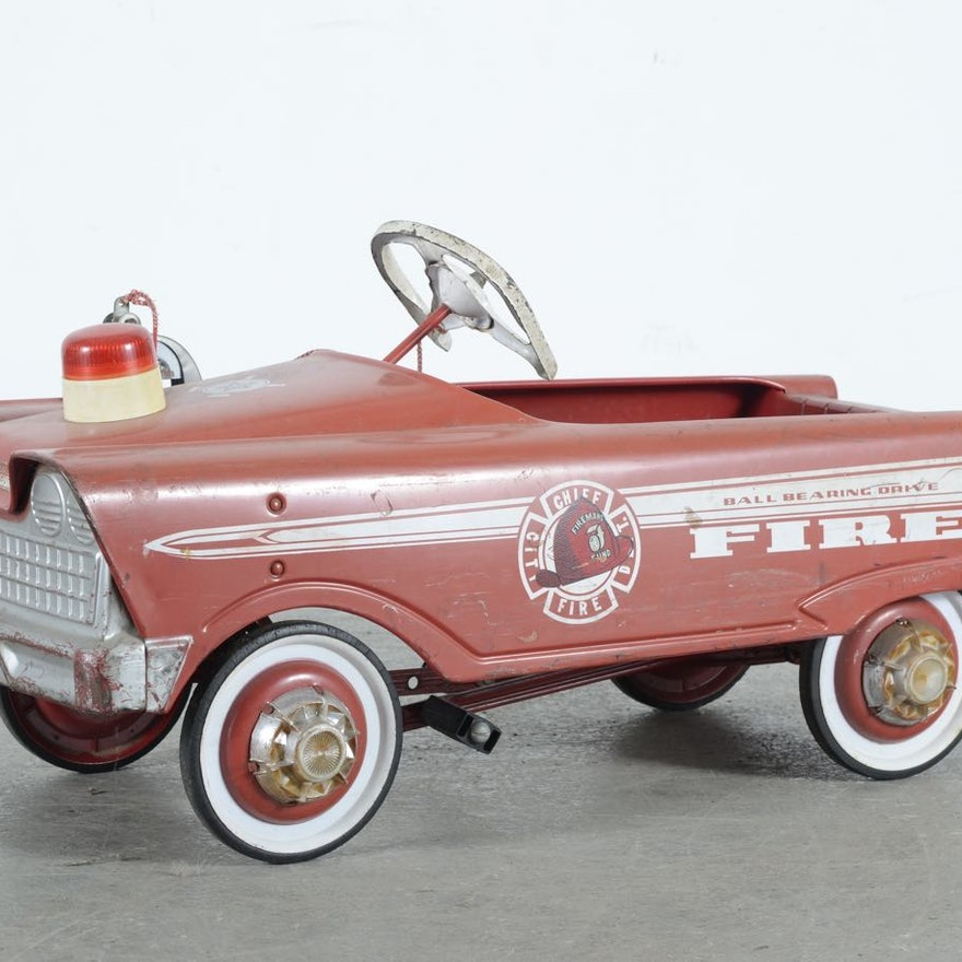 Murray Fire Chief Pedal Car Parts