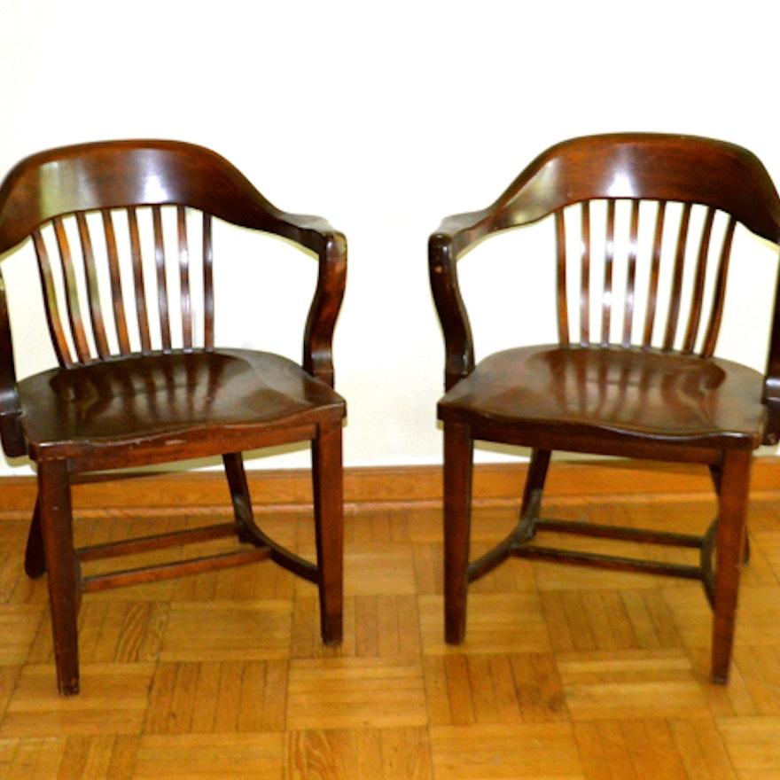 Fabulous Pair Of Mid Century Modern Murphy Chairs Spiritservingveterans Wood Chair Design Ideas Spiritservingveteransorg