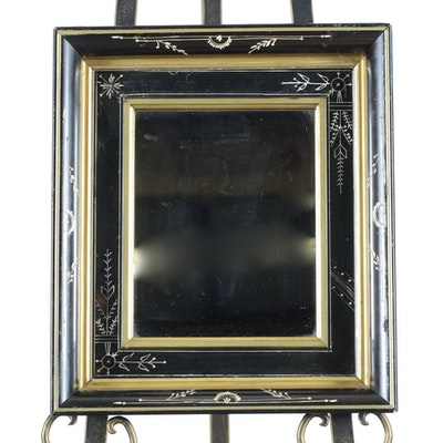 Vintage mirrors auction antique wall and floor mirrors for Gold frame floor mirror