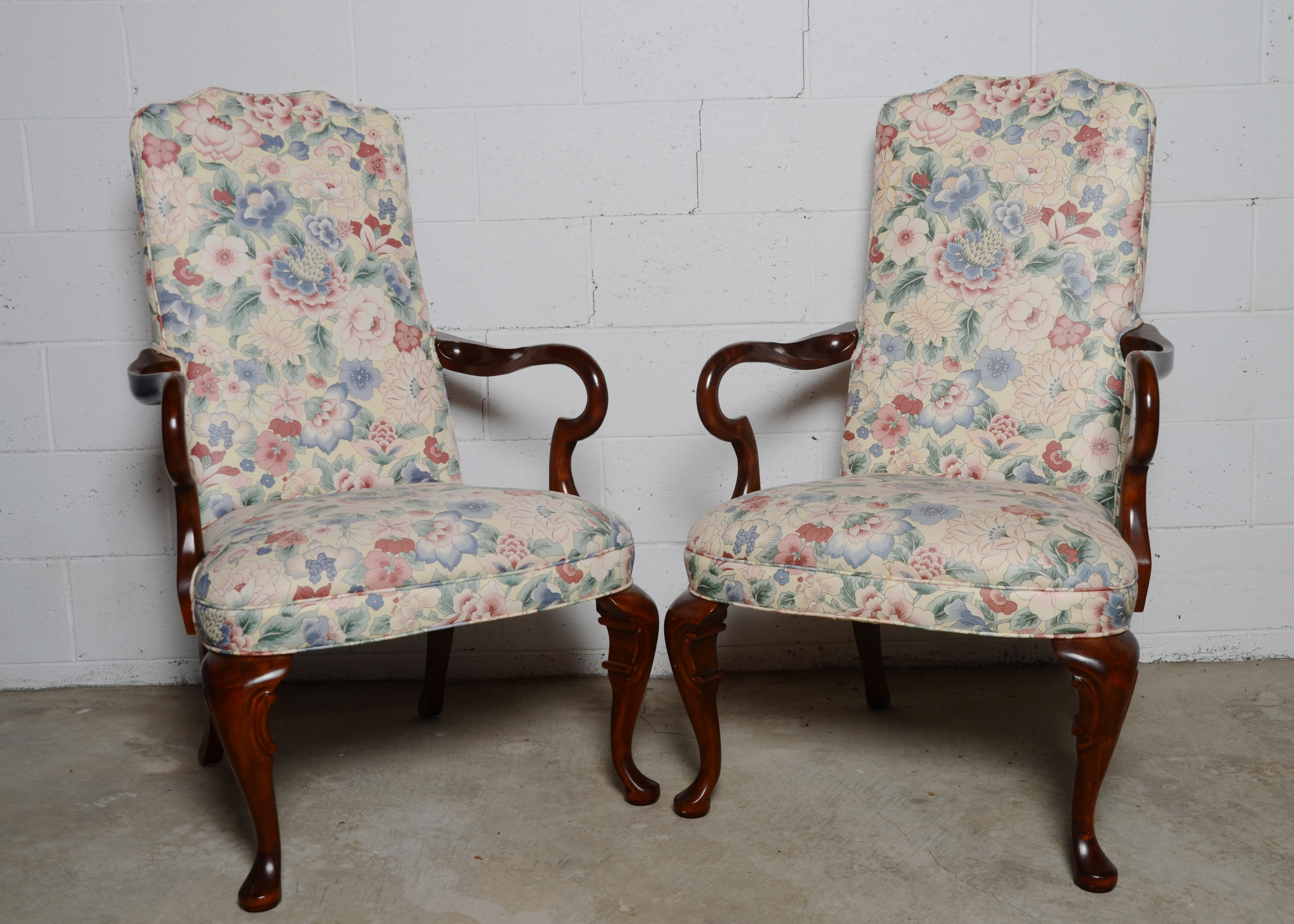 Pair Of Pennsylvania House Wingback Chairs