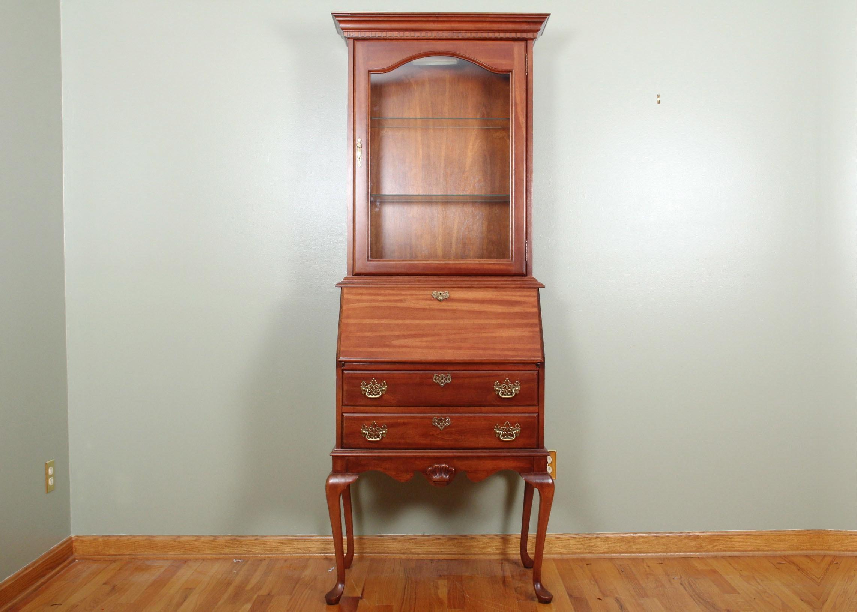 Jasper Cabinet Company Cherry Secretary ...