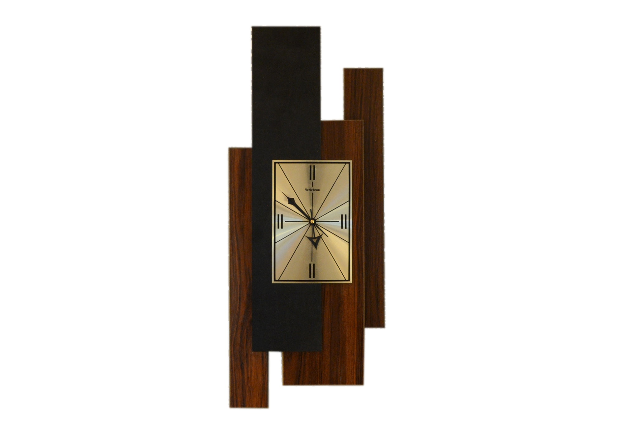 Verichron Mid Century Modern Wall Clock ...