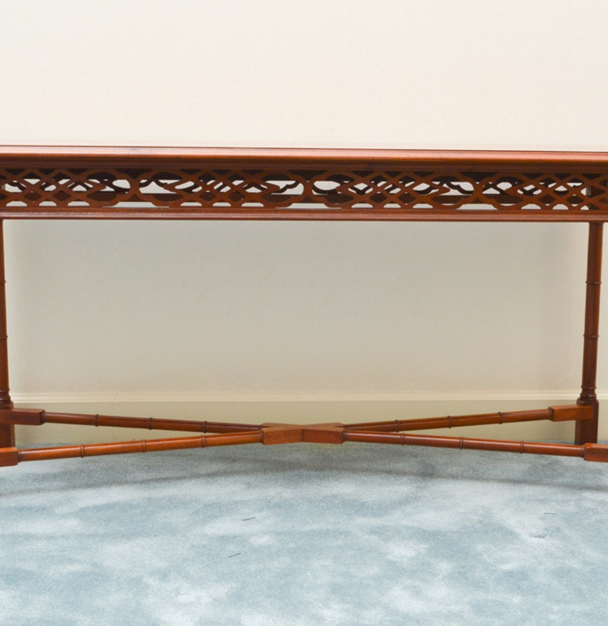 Chinese sofa table sofa magnificent chinese table cheng leung chinese chippendale style console or sofa table ebth geotapseo Gallery