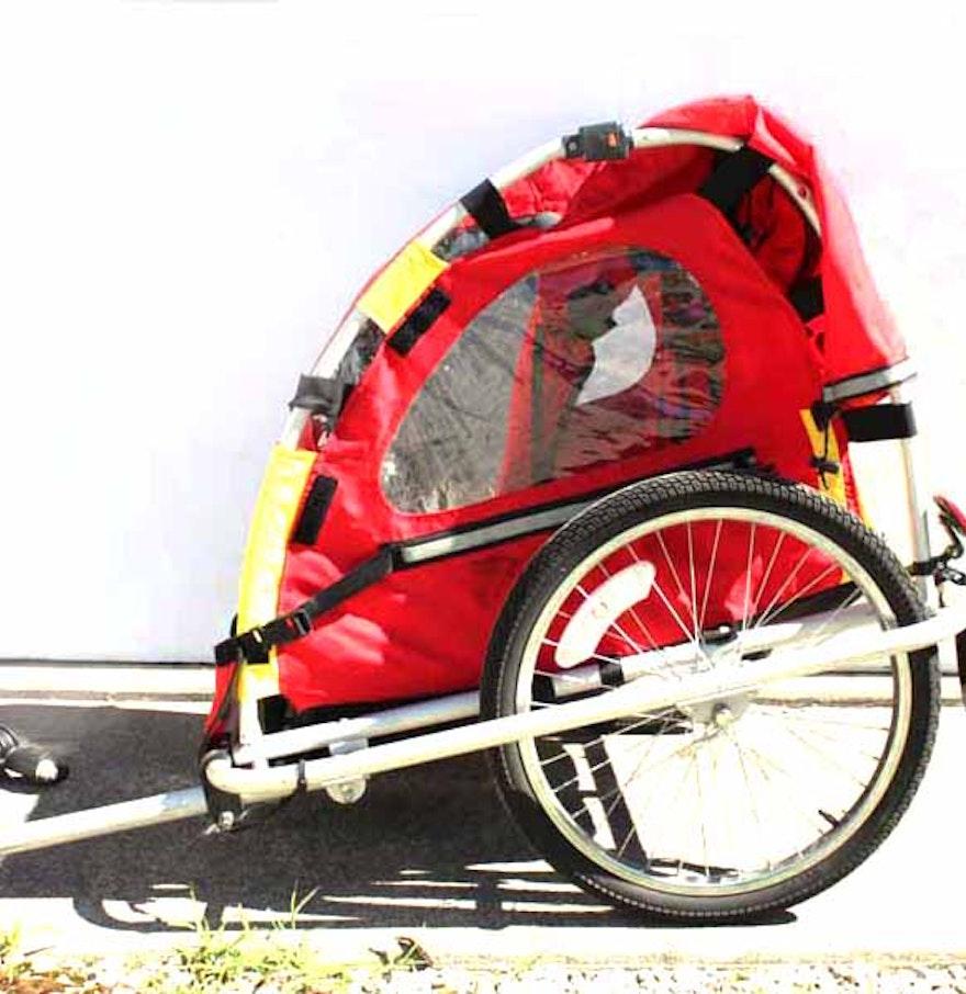 Turbo Bike Pic: InStep Turbo Bicycle Trailer Elite : EBTH