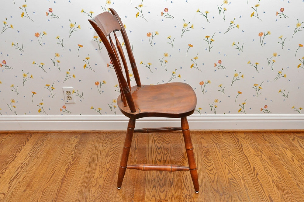 S Bent And Bros Colonial Style Chairs Ebth
