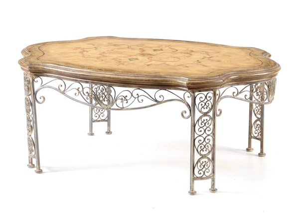 Italian provincial style coffee table ebth Tuscan style coffee table