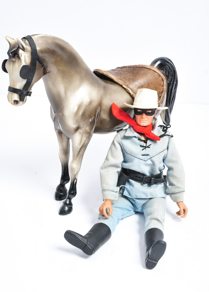 Vintage Lone Ranger And Tonto Collection Ebth