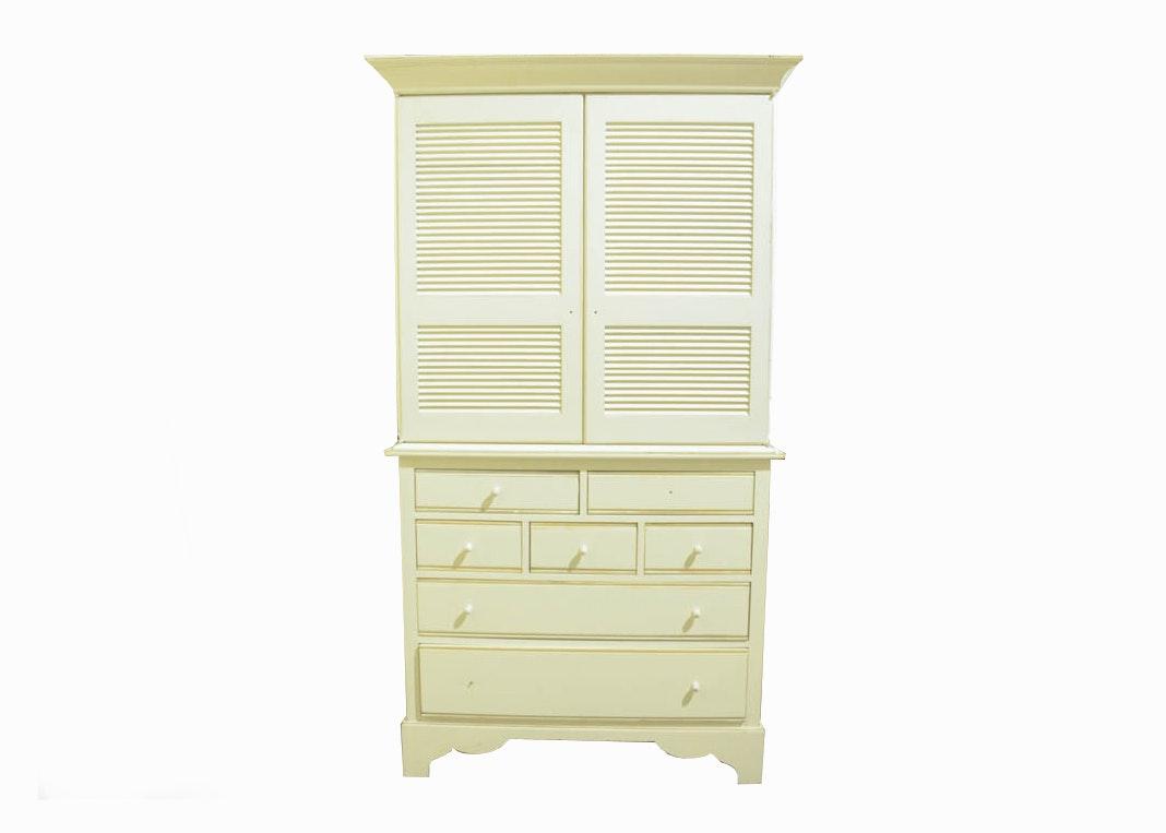 White Armoire By Lexington Furniture Industries ...