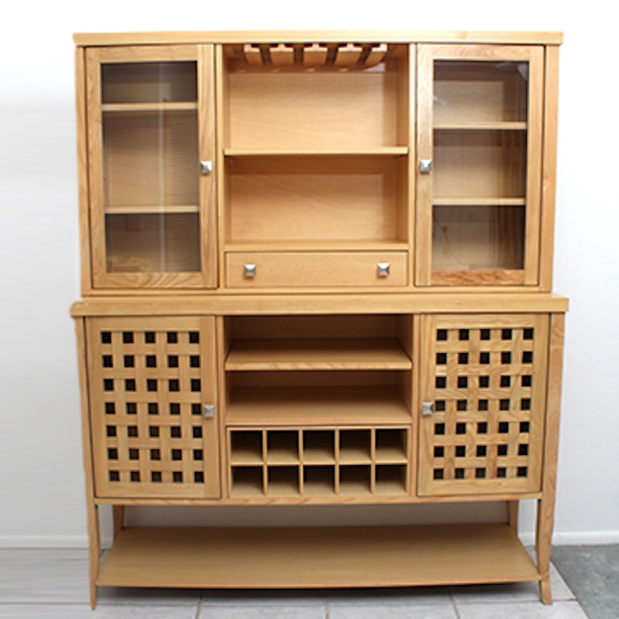 Pier One Bakers Rack: Pier 1 Imports Wine Rack Hutch