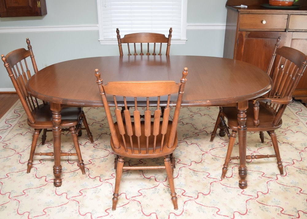 Tell City Maple Dinette Set Part 44