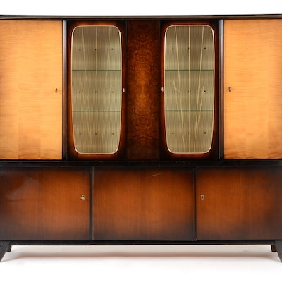 art deco dining hutch art deco mid century dining