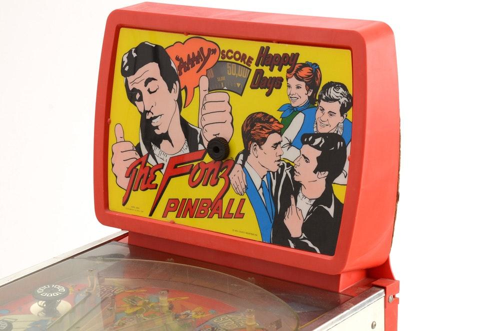 Fonz Pinball Machine | EBTH