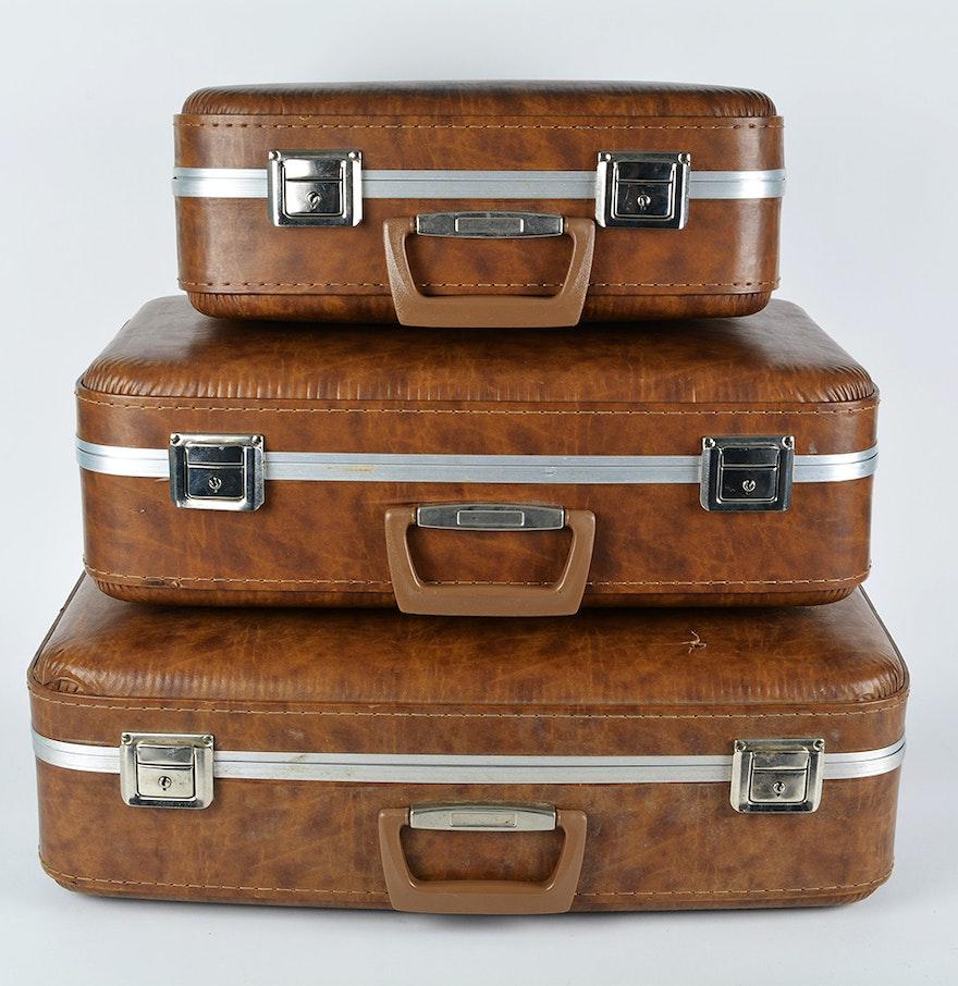 Vintage Luggage Set 104