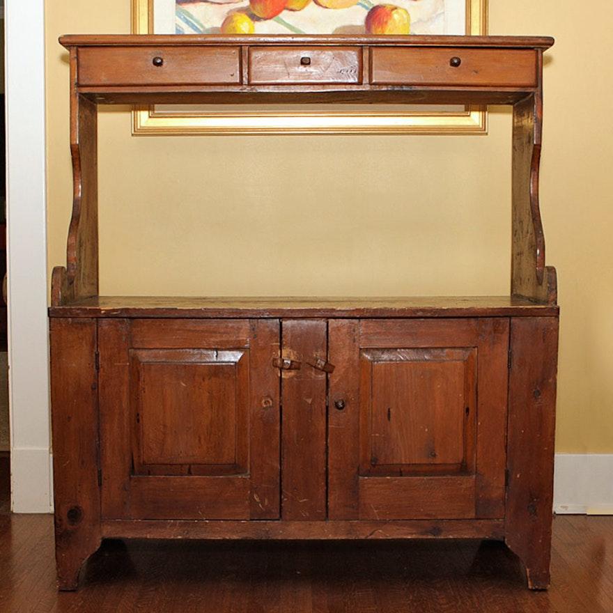 Antique Jelly Cupboard ... - Antique Jelly Cupboard : EBTH