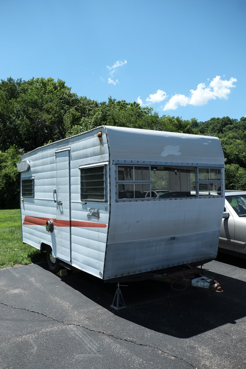 1965 Shasta Airflyte Travel Trailer Ebth