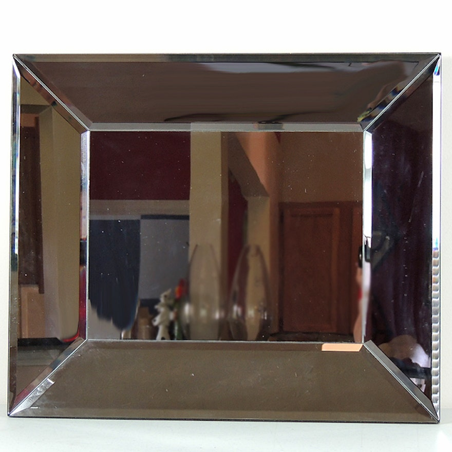 Faceted Wall Mirror Ebth