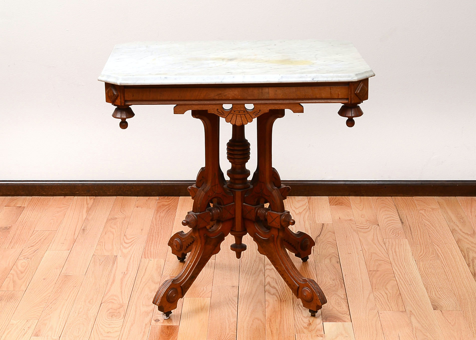 Delicieux Marble Top Accent Table