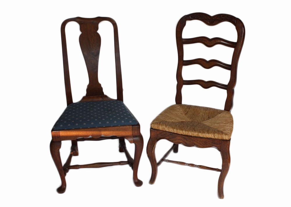 Pair Of Side Chairs Ebth