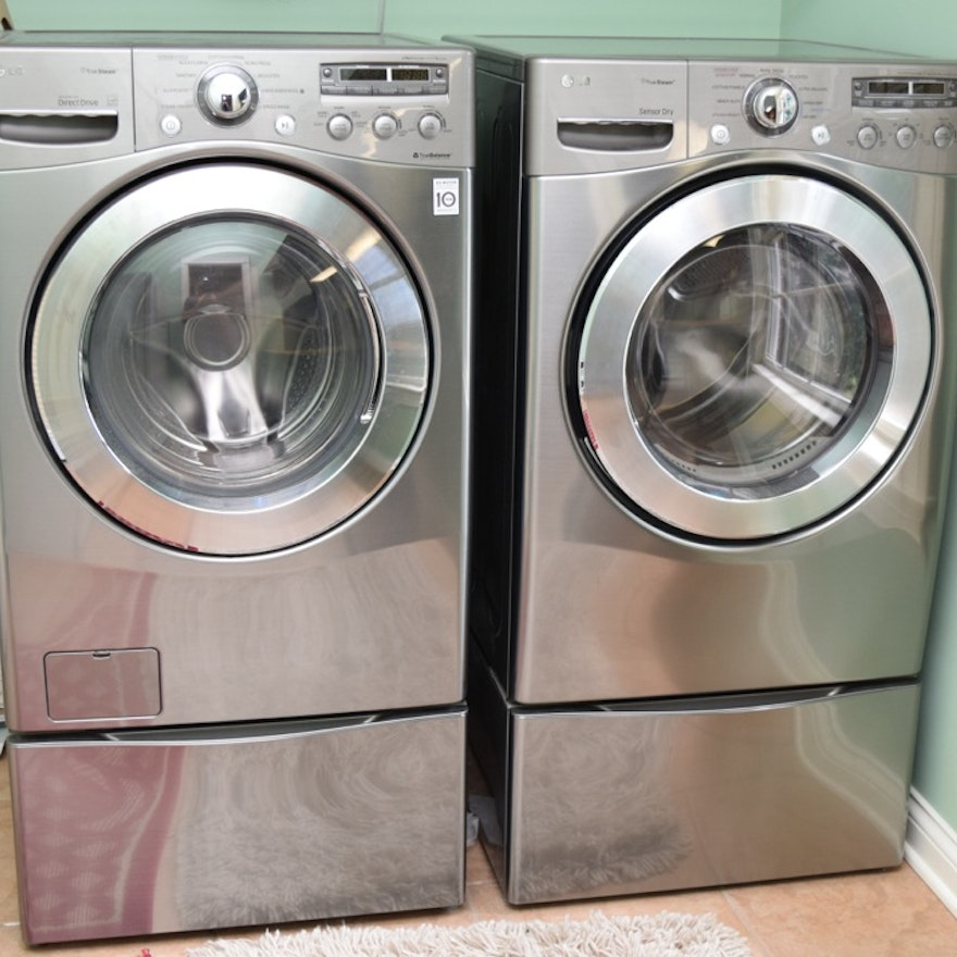 Lg Front Load Washer And Dryer Ebth