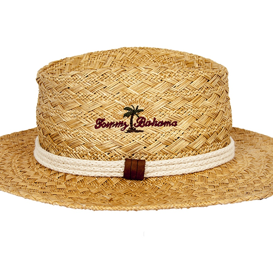 Tommy Bahama Shade Maker Hat with Embroidered Logo   EBTH d4675ebfcf4