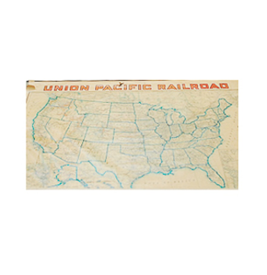 Railroad Map Railroad Map S Railroads In Florida United - Us railroad wall map