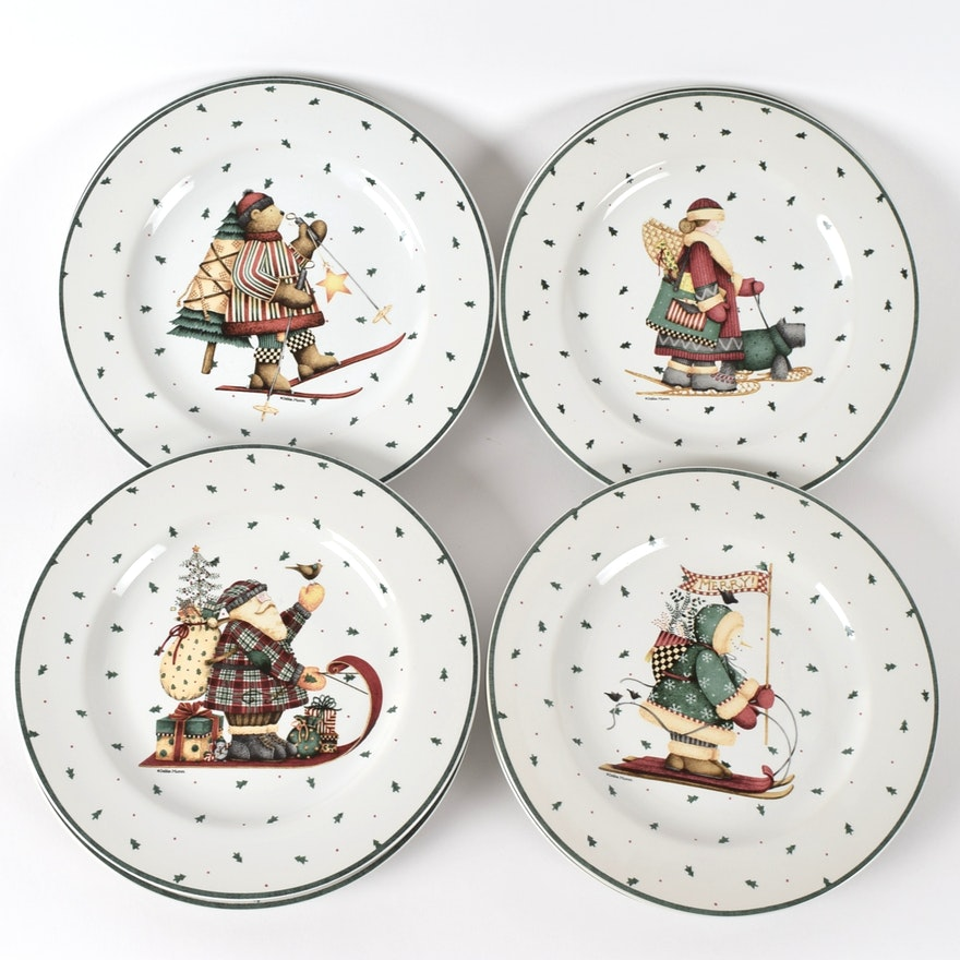 Sakura Christmas Dishes by Debbie Mumm : EBTH