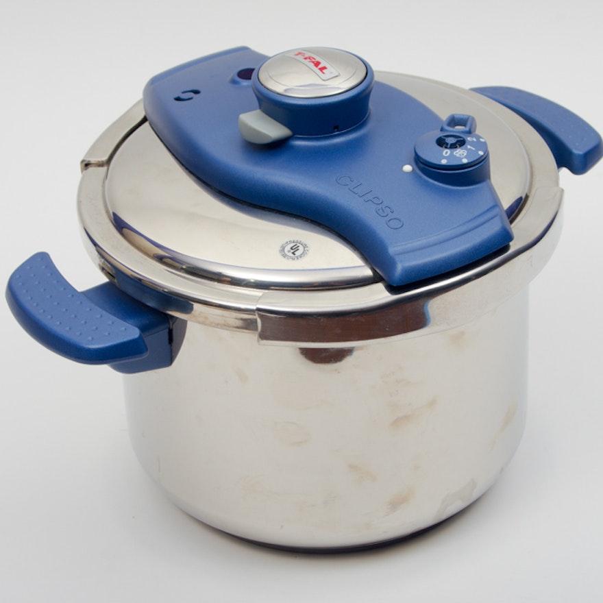 T Fal Clipso 6 Liter Pressure Cooker Ebth