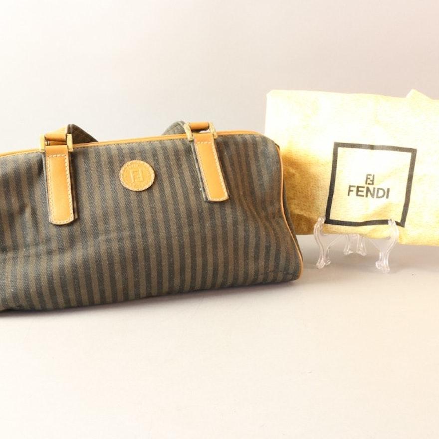 Vintage Fendi Handbag and Cover   EBTH b8033a3aa853