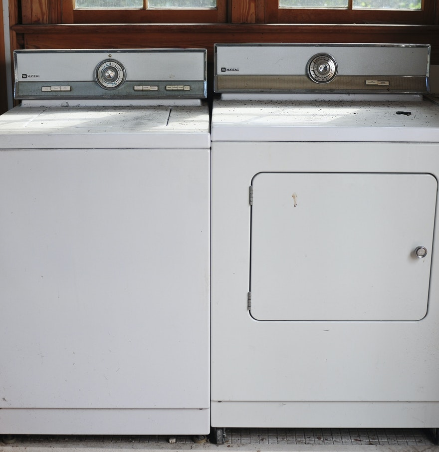 maytag stackable washer and dryer manual