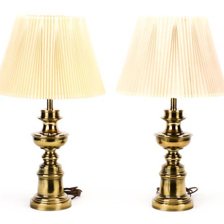 Vintage Stiffel Lamps >> Pair Of Vintage Stiffel Lamps