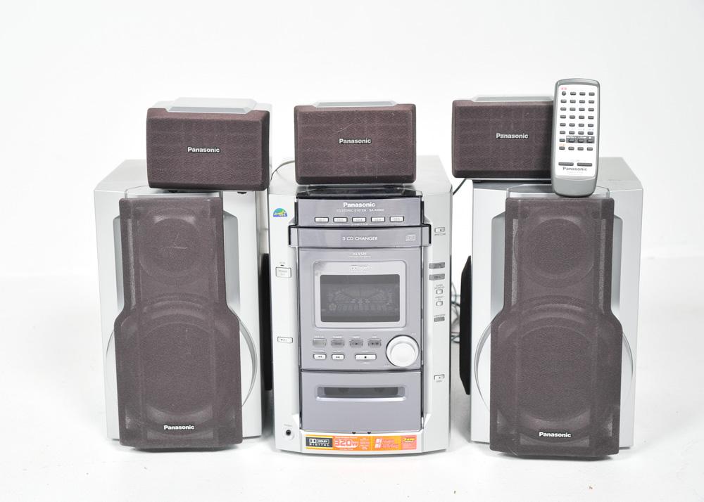 Panasonic Cd Stereo System Sa