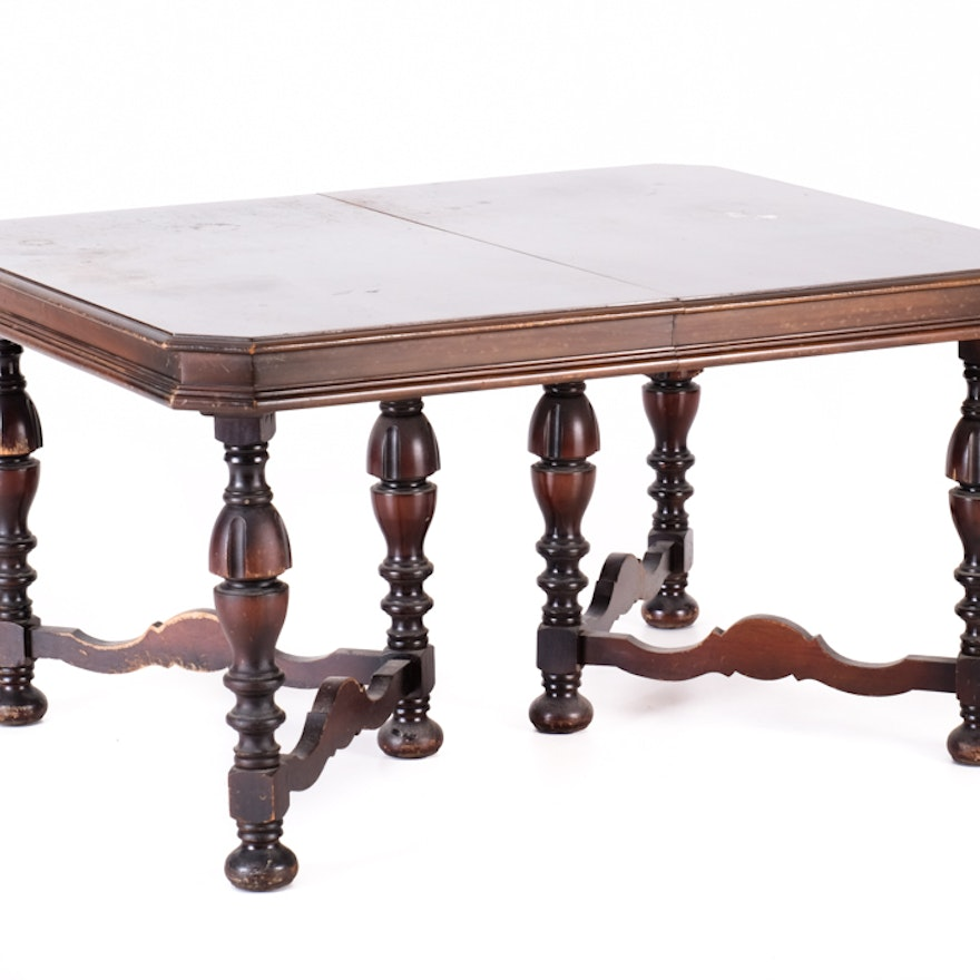 Jacobean Revival Dining Table