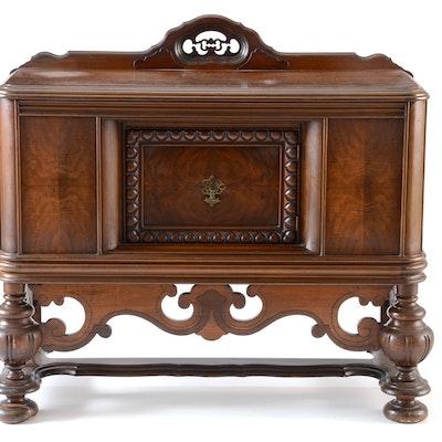 Walnut Buffet Server - Online Furniture Auctions Vintage Furniture Auction Antique