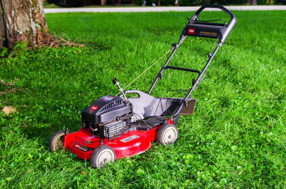 Toro Finish Mower : Toro gts hp push mower ebth