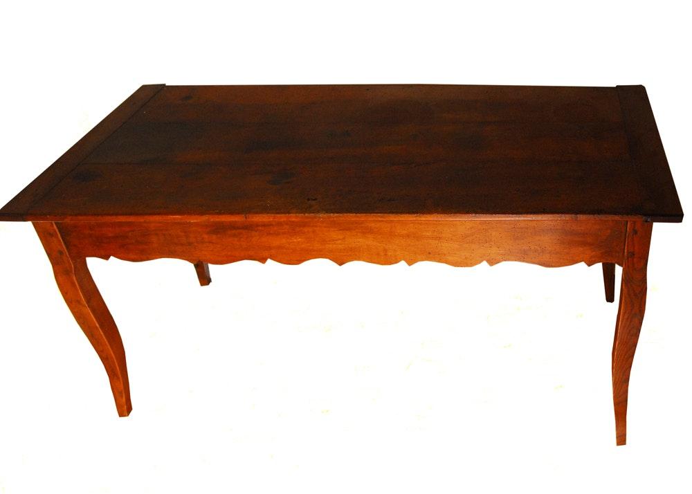 Antique French Provençal Farm Table