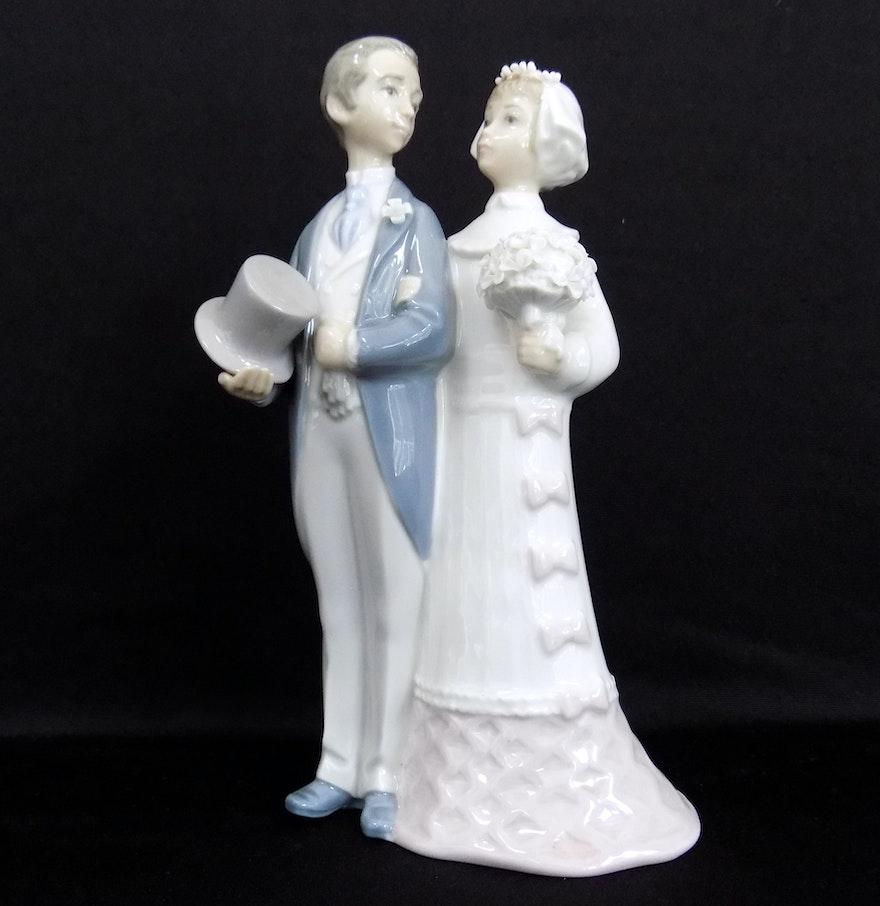 Lladro Bride And Groom Wedding Figurine 1972 EBTH
