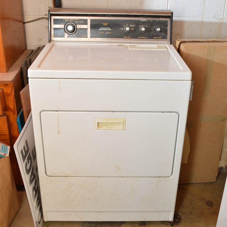 Lady Kenmore Ultra Fabric Care Dryer