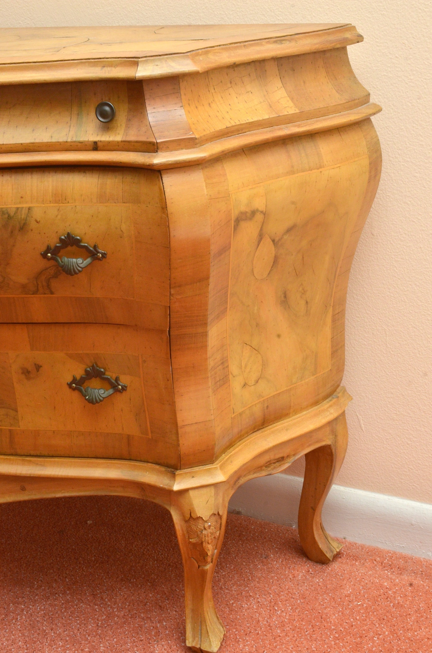 louis xv style commode ebth. Black Bedroom Furniture Sets. Home Design Ideas