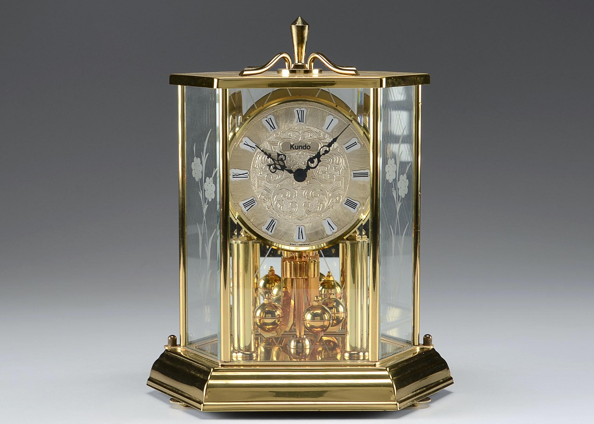 kundo brass anniversary clock - Anniversary Clock