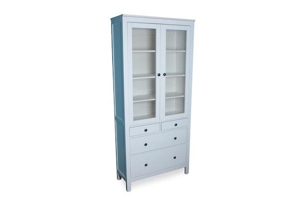 Ikea hemnes china cabinet ebth for China cabinet ikea