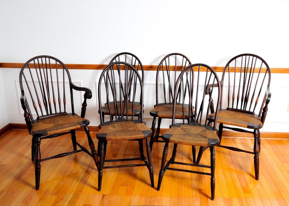 Beau Phoenix Chair Company Set Of WIndsor Chairs