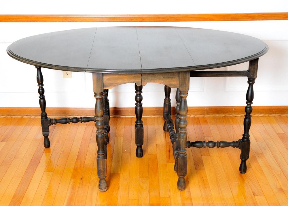 Mahogany Gate Leg Dining Table