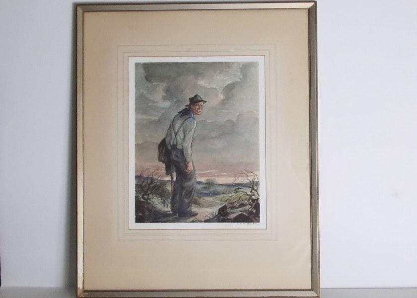 A.H. Winkler Watercolor