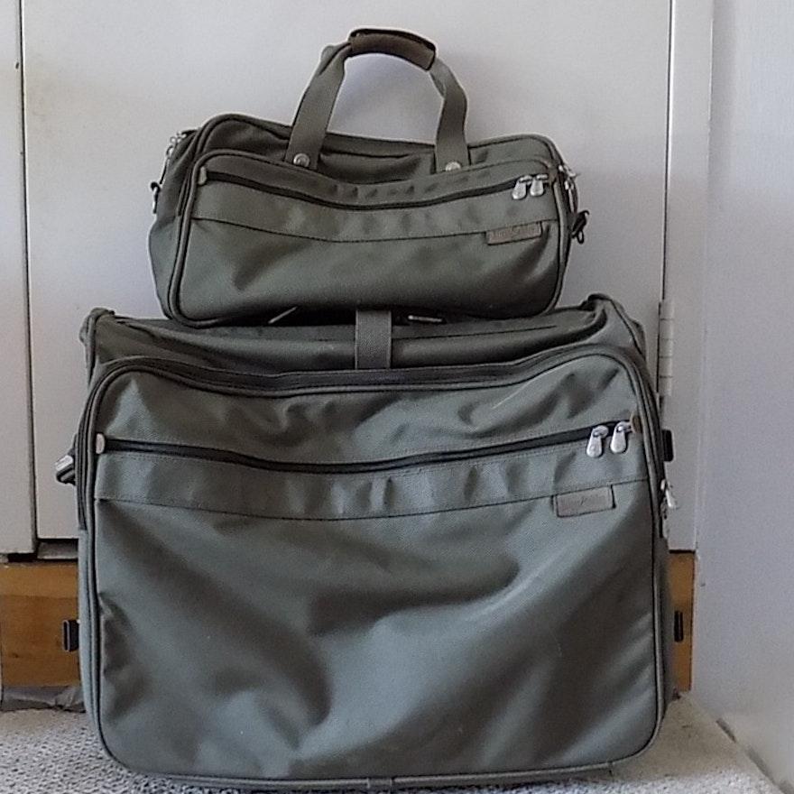 247ab967dfa8 Briggs and Riley Two Piece Luggage Set   EBTH